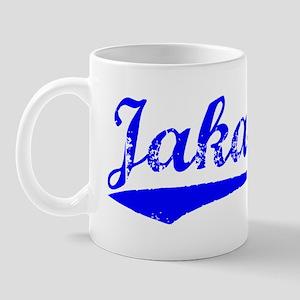 Vintage Jakarta (Blue) Mug