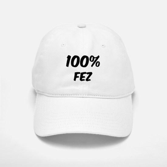 100 Percent Fez Baseball Baseball Cap