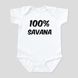 100 Percent Savana Infant Bodysuit