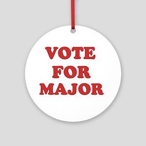 Vote for MAJOR Ornament (Round)
