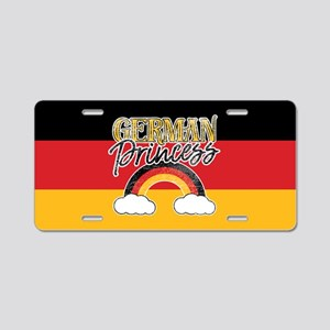 German Princess Aluminum License Plate