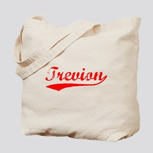 Vintage Trevion (Red) Tote Bag