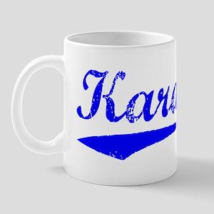 Vintage Karachi (Blue) Mug