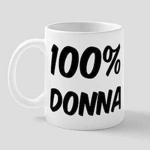 100 Percent Donna Mug