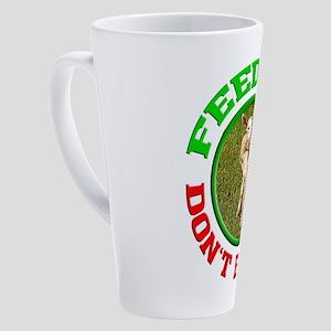 Little lamb - vegan - vegetarian - 17 oz Latte Mug