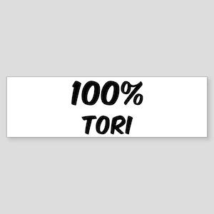 100 Percent Tori Bumper Sticker