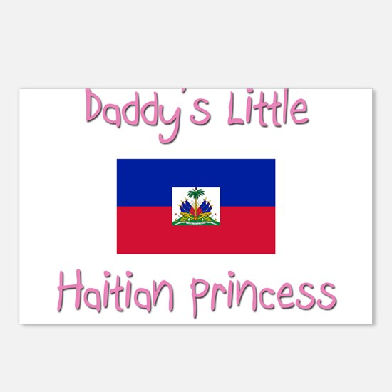 Daddy's little Haitian Princess Postcards (Package