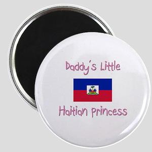 Daddy's little Haitian Princess Magnet