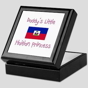 Daddy's little Haitian Princess Keepsake Box