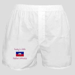 Daddy's little Haitian Princess Boxer Shorts