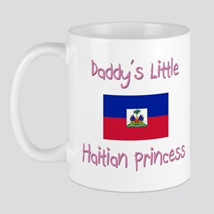 Daddy's little Haitian Princess Mug