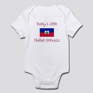 Daddy's little Haitian Princess Infant Bodysuit