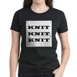Knit Knit Knit Women's Dark T-Shirt