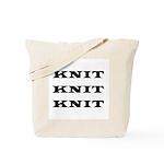 Knit Knit Knit Tote Bag