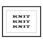 Knit Knit Knit Large Framed Print