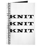 Knit Knit Knit Journal