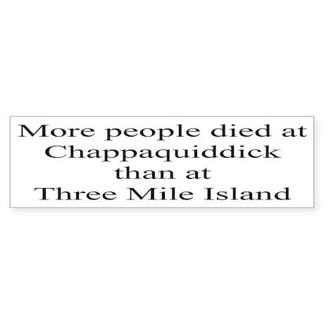 Three Mile Island Bumper Sticker