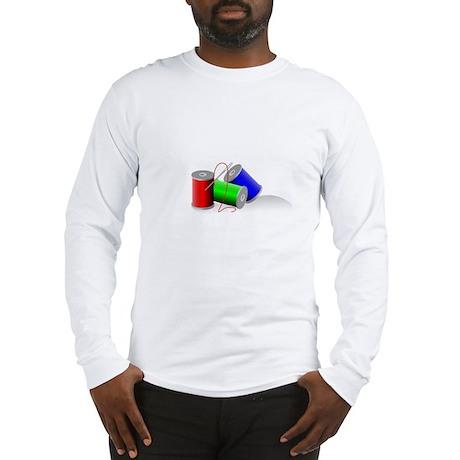 Colorful Thread Spools - Sewi Long Sleeve T-Shirt