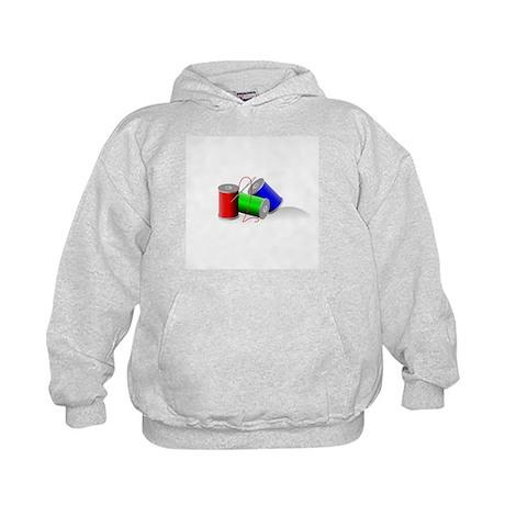 Colorful Thread Spools - Sewi Kids Hoodie