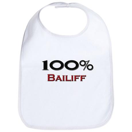 100 Percent Bailiff Bib