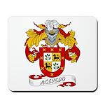 Acevedo Family Crest Mousepad