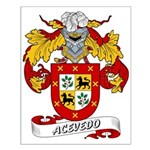 Acevedo Family Crest Small Poster