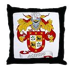 Acevedo Family Crest Throw Pillow