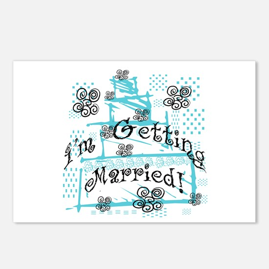 I'm Getting Married Postcards (Package of 8)