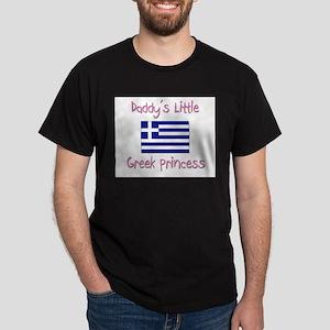 Daddy's little Greek Princess Dark T-Shirt