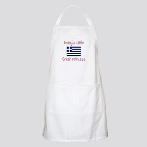 Daddy's little Greek Princess BBQ Apron