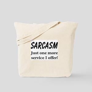 Sarcasm Tote Bag