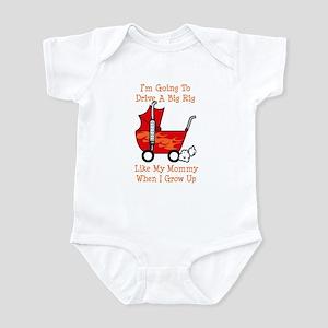 Stroller Big Rig Like Mommy Infant Bodysuit