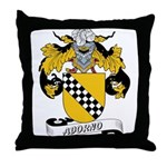 Adorno Family Crest Throw Pillow