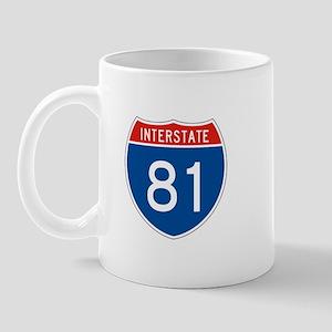 Interstate 81, USA Mug