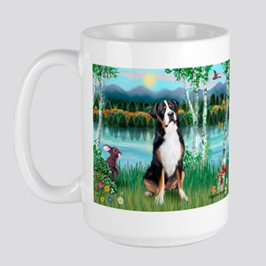 Birches / GSMD Large Mug