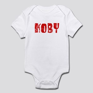 Koby Faded (Red) Infant Bodysuit