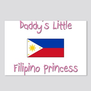 Daddy's little Filipino Princess Postcards (Packag