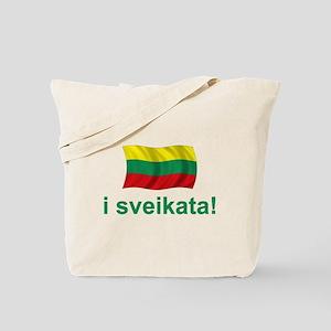 Lithuanian i sveikata! Tote Bag