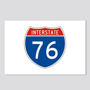 Interstate 76, USA Postcards (Package of 8)