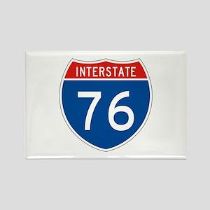Interstate 76, USA Rectangle Magnet