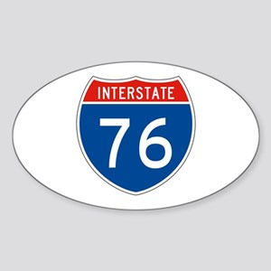 Interstate 76, USA Oval Sticker