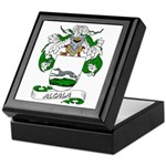 Alcala Family Crest Keepsake Box