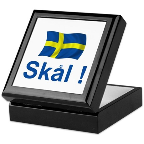 Swedish Skal! Keepsake Box