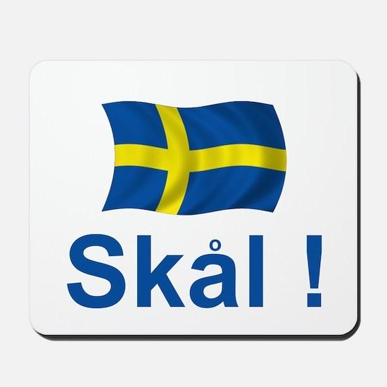 Swedish Skal! Mousepad