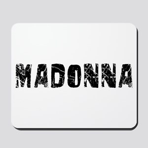 Madonna Faded (Black) Mousepad