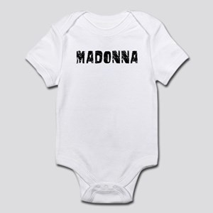 Madonna Faded (Black) Infant Bodysuit