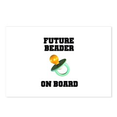 Future Beader on Board - Mate Postcards (Package o