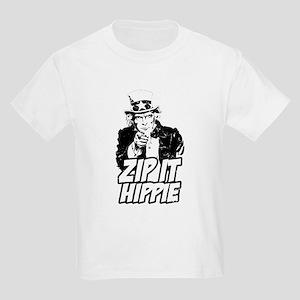 Zip It Hippie Kids Light T-Shirt