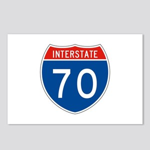 Interstate 70, USA Postcards (Package of 8)