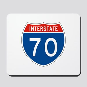 Interstate 70, USA Mousepad